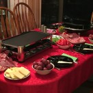 Raclette Grill and sides